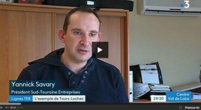 Intervention de Yannick SAVARY sur la ligne SNCF Tours Loches